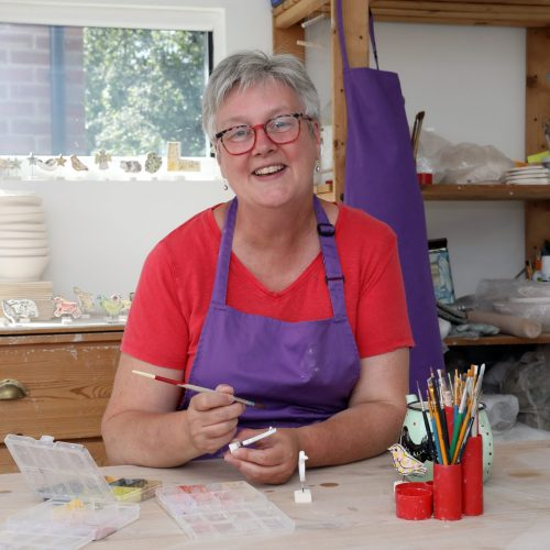 Louise Crookenden-Johnson, pottery for Etsy  Sunday June 30th 2019